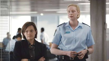 Elisabeth Moss y Gwendoline Christine, pareja de policías en 'Top of the Lake: China Girl'.