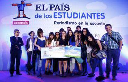Entrega del premio Endesa de Sostenibilidad y Medio Ambiente.