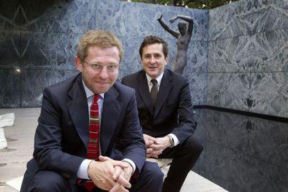 Luis M. Mansilla (i.) y Emilio Tuñón (d.) en 2007