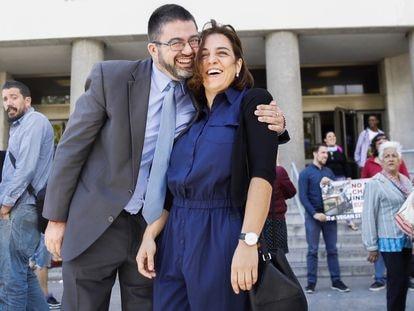 Los exconcejales madrileños Carlos Sánchez Mato y Celia Mayer, en una imagen de archivo.