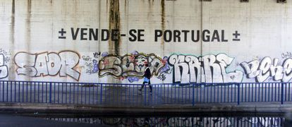 Una calle de Lisboa.