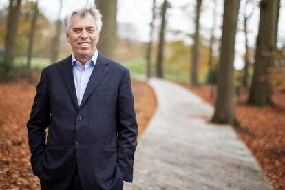 Peter Blom, consejero delegado de Triodos, fotografiado en la ciudad holandesa de Utrech el pasado noviembre.