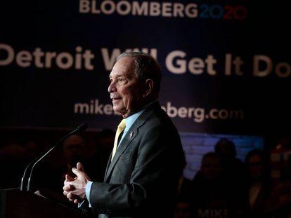 Michael Bloomberg, precandidato demócrata a la presidencia de EEUU.
