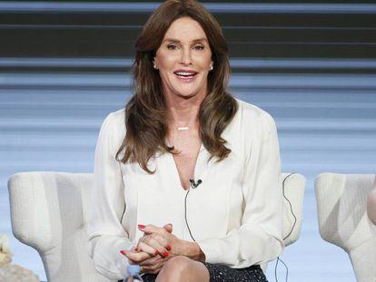 Caitlyn Jenner, durante una charla el pasado enero.