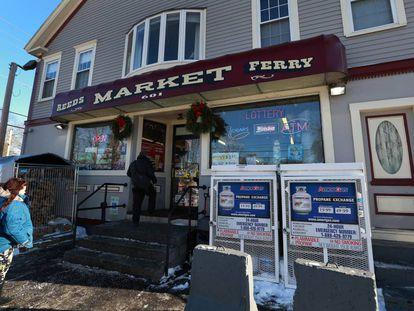 El comercio de Merrimack, en New Hampshire, donde se vendió el boleto de lotería
