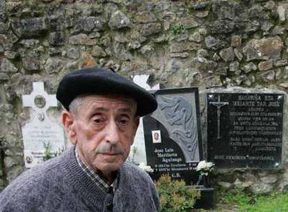 Juan Zabala, el monaguillo que señaló con una estaca el lugar donde los franquistas asesinaron al cura José.