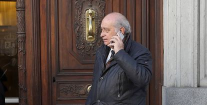 El exministro del Interior Jorge Fernández Díaz (PP).