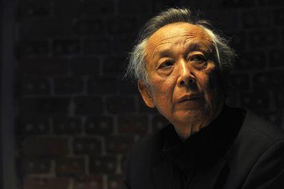El premio Nobel Gao Xingjian, en Bilbao.