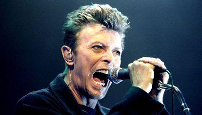 David Bowie, at a concert in Vienna in 1996.