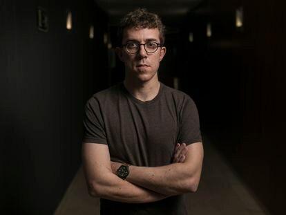 El periodista frances Valentin Gendrot, autor de 'Poli', en Barcelona.