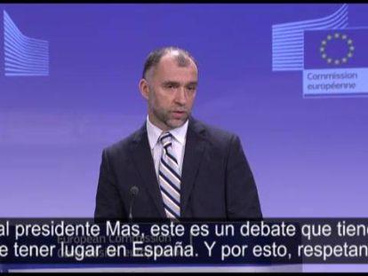 La UE responde por escrito a Mas que el referéndum es un asunto español