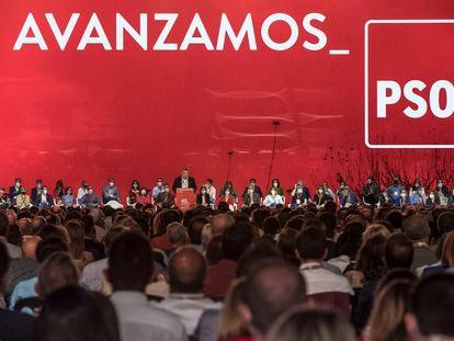 Segunda jornada del 40º Congreso Federal del PSOE, que se celebra en Valencia.