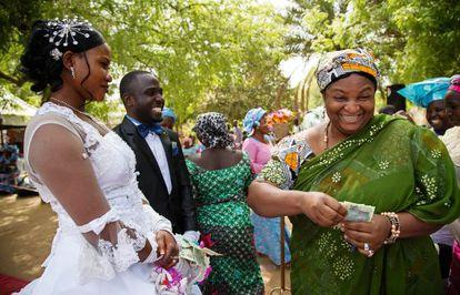 Boda en Kano. Enlace celebrado en abril de 2013 en Nigeria.