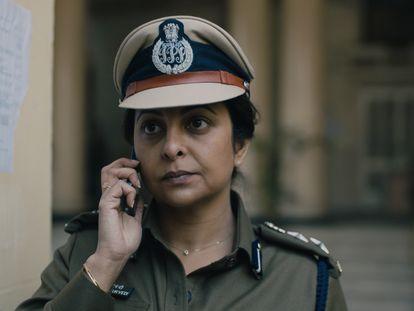 Shefali Shah en 'Delhi Crime'.