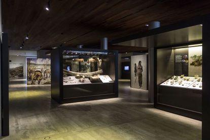 Un detalle del espacio dedicado a la Prehistoria en el renovado MAN.