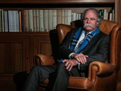 Ian Hunter en la Fundación Ramón Areces de Madrid.
