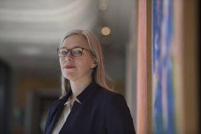 La primatóloga alemana Julia Fischer, fotografiada en Madrid.