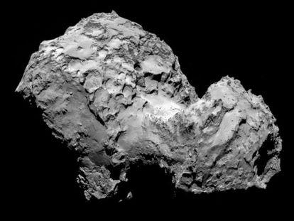 Imagen del cometa 67P/Churyumov–Gerasimenko.