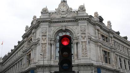 Sede del Banco de España en mayo de 2021, en Madrid.