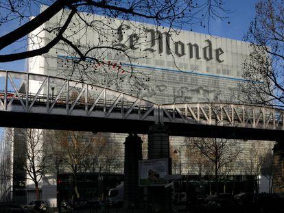 La actual sede del periódico francés 'Le Monde', en el bulevar Auguste Blanqui de París.