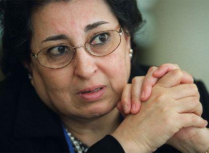 Thoraya Ahmed Obaid, directora del Fondo de Población de la ONU.