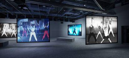 'Phase Shifting Index' (2020), de Jeremy Shaw, en las salas del Centro Pompidou de París.