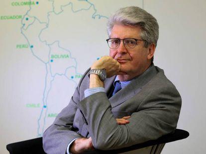 Fernando Reimers en la sede de la OEI.
