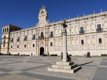 El hostal de San Marcos en León.