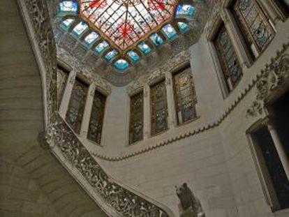 Interior de la Casa Burés.