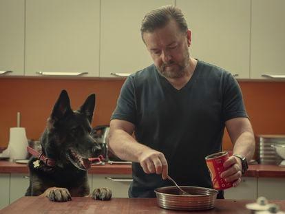 Ricky Gervais en la segunda temporada de 'After Life'.
