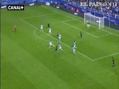 """El Real Madrid se exhibe en los primeros 45 minutos y arrolla al Málaga. <strong><a href=""""http://www.elpais.com/buscar/liga-bbva/videos"""">Vídeos de la Liga BBVA</a></strong>"""