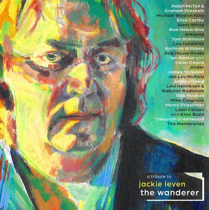 Portada de 'The Wanderer: A Tribute To Jackie Leven'.