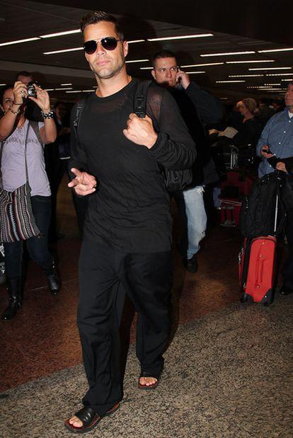 Ricky Martin en una imagen de agosto de 2011