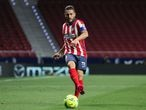 Koke Resurreccion of Atletico de Madrid shoot the ball during La Liga football match played between Atletico de Madrid and Real Sociedad SAD at Wanda Metropolitano stadium on May 12, 2021 in Madrid, Spain. AFP7  12/05/2021 ONLY FOR USE IN SPAIN