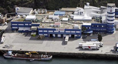 Instalaciones de Pescanova en Vigo