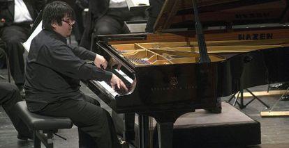Akihiro Sakiya ganador del Concurso de Piano de Jaén.