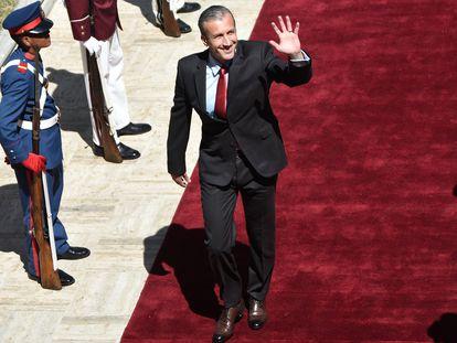 Tareck El Aissami, nuevo ministro de Petróleo de Venezuela.