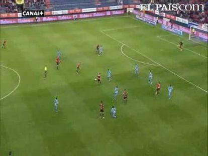 "Un gol de Pandiani da el empate a Osasuna en el Sadar. <strong><a href=""http://www.elpais.com/buscar/liga-bbva/videos"">Vídeos de la Liga BBVA</a></strong>"