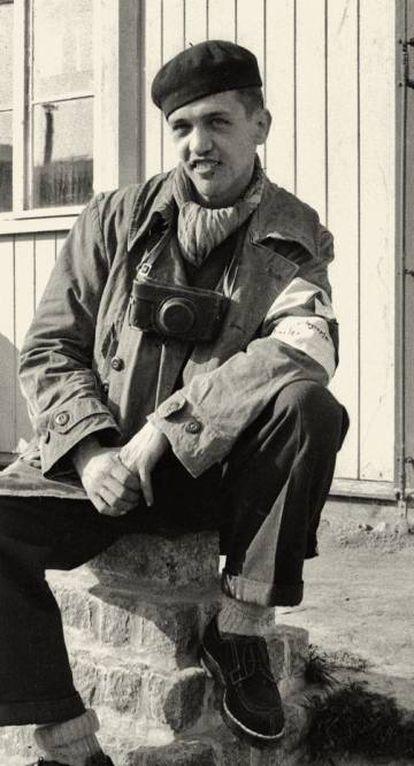 Francisco Boix, tras la liberación del campo de Mauthausen.