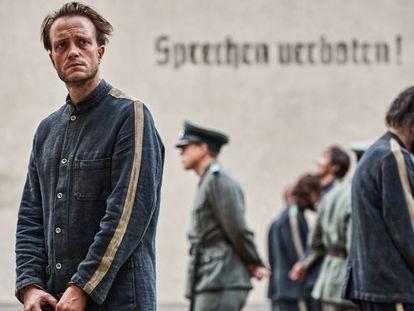 August Diehl, en 'Vida oculta'. En el vídeo, secuencia de la película.