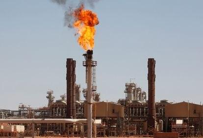 Planta de gas en Amenas, al sureste de Argelia.
