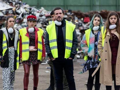 Una imagen de la primera temporada de 'HIT'.