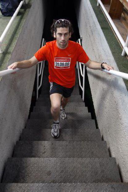César Pérez, en 2008.