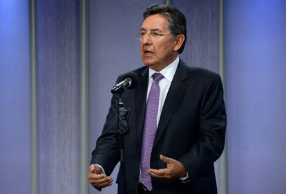 El fiscal Néstor Humberto Martínez, en abril pasado.
