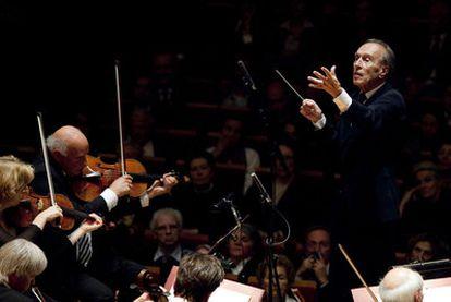 El director de orquesta Claudio Abbado.