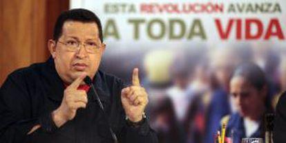 Chávez presenta el plan A Toda Vida contra el crimen