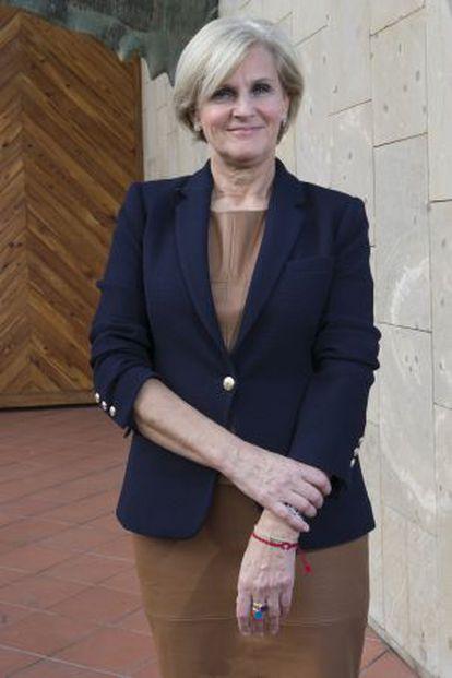 María Neira, directora de Salud Publica de la Organización Mundial de Salud, en el Auditorio Alfredo Kraus de Las Palmas.