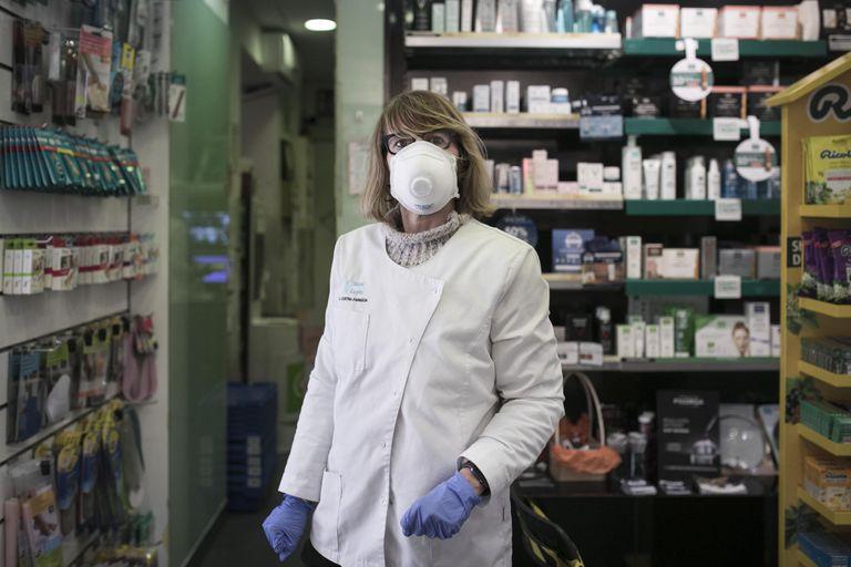 Pepa Soler, propietaria de la farmacia Soler Cuyas, el día 23.
