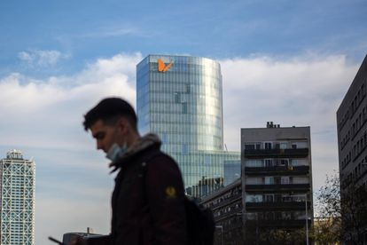 Edificio Naturgi en Barcelona.