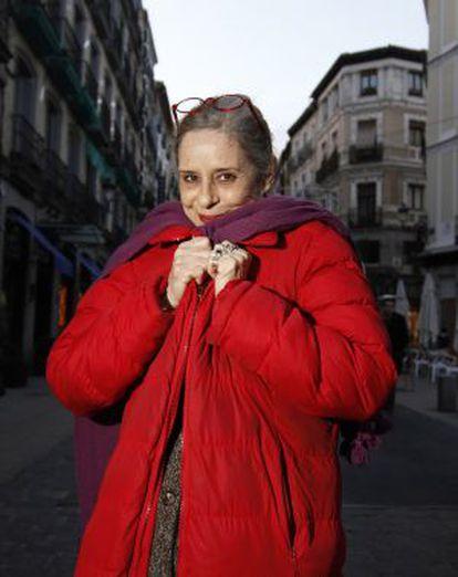 La actriz Vicky Peña, en Madrid.